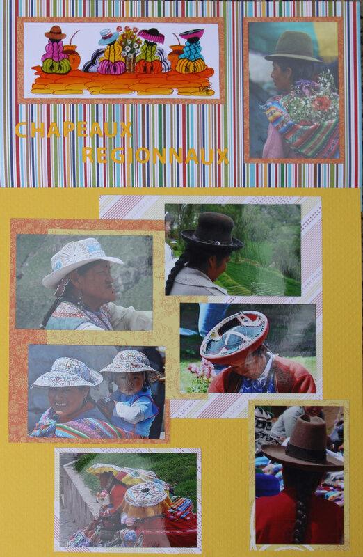75 les cgapeaux péruviens ouverte
