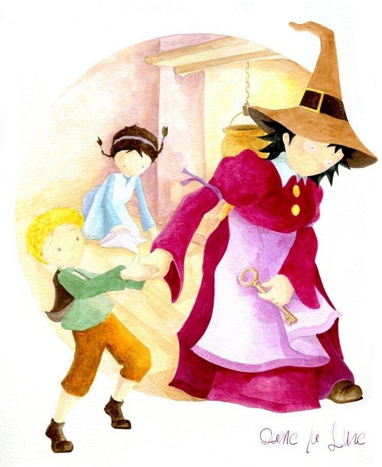 m- Un conte...de Grimm, Acte 10