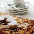 Ce matin, j'ai envie de vous faire craquer avec cette tarte aux pommes très très gourmande.......