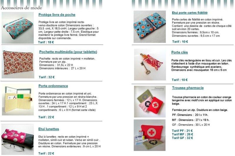 Catalogue Clocréations page 6-7