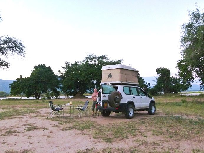 01-Mana Pools, le campsite