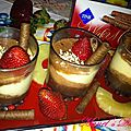 Mousse nestlé chocolat-ananas