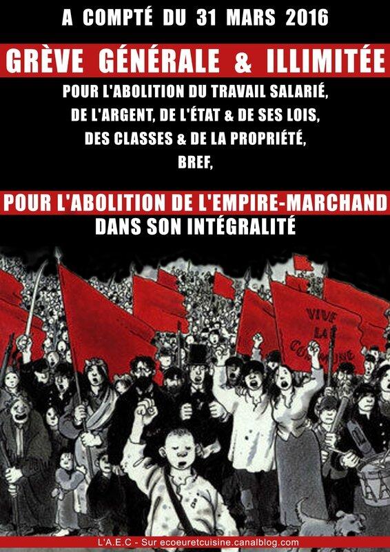 Grève du 31 mars 2016 loi travail 2