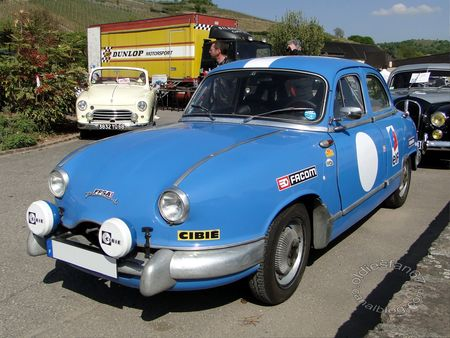panhard dyna z berline version rallye 1954 1956 bourse echanges de soultzmatt 2011 1