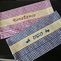 2 porte-serviettes