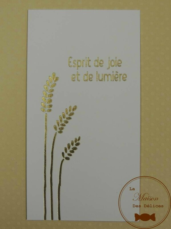 carte de communion blanche