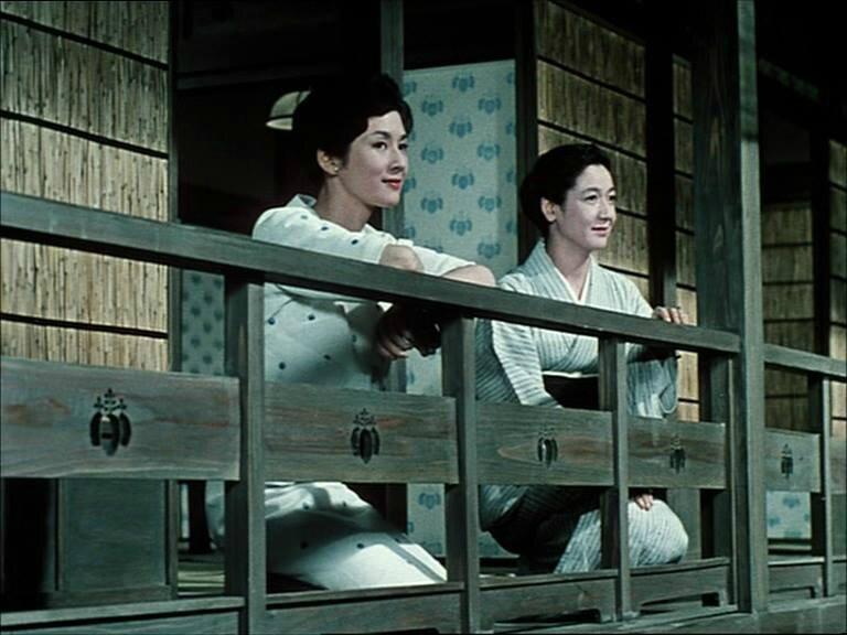 Setsuko Hara et Yōko Tsukasa