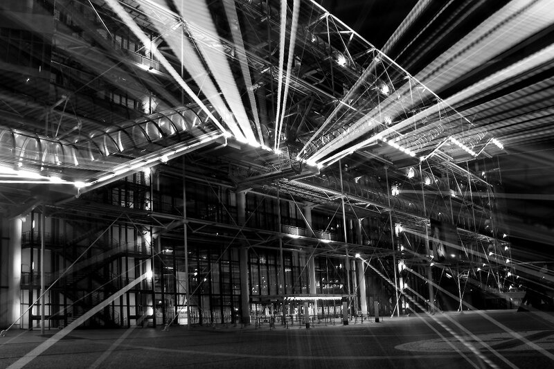 9-Beaubourg by night_1527