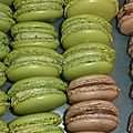Macarons Kiwi !