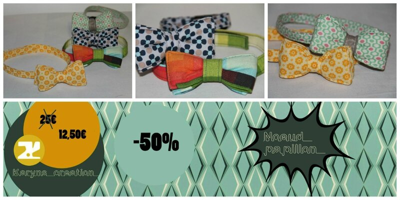 noeuds papillon soldes karyns creation 4