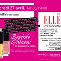 Gossip Girl Party chez Filigranes !
