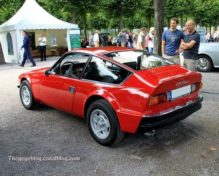 Alfa romeo junior GT Zagato de 1970 (9ème Classic Gala de Schwetzingen 2011) 02