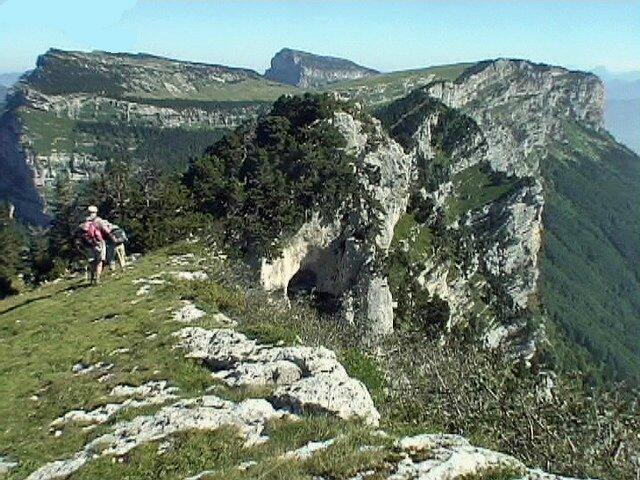 Crêtes du Grand Manti 1800 m. - Chartreuse