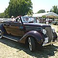 Ford model 68 4door convertible 1936