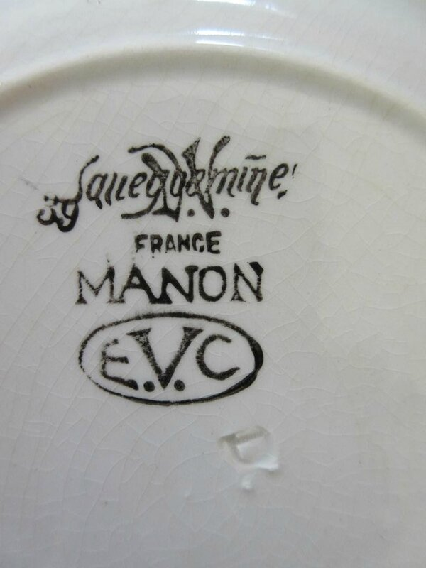 MANON EVC assiette a dessert dessous