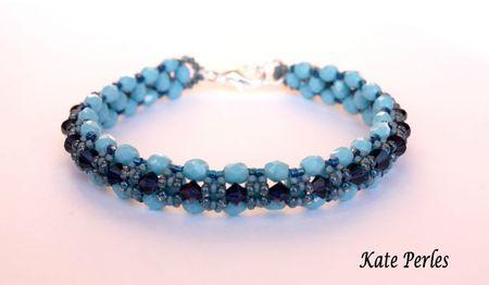 Bracelet uno bleu1