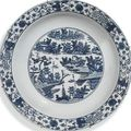 A collection of chinese blue and white. late ming dynasty