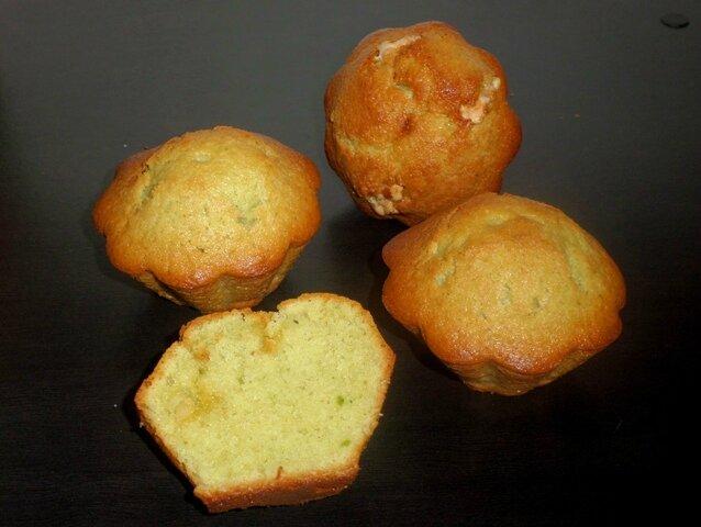 Muffins pistache nougat