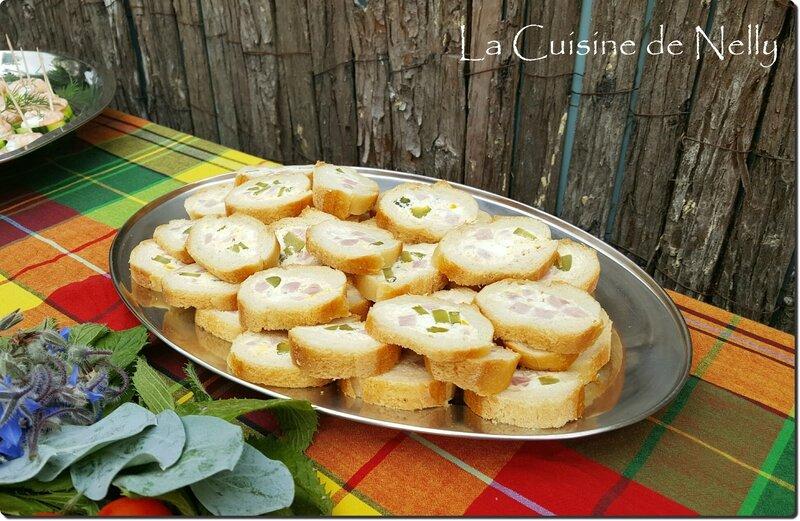 Baguette Apéro Jambon oeuf cornichons 2