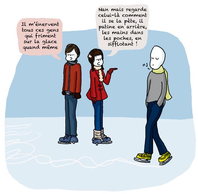 j aime pas la neige