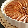 Magnifique tarte aux pommes & canneberges !