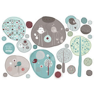Stickers turquoise