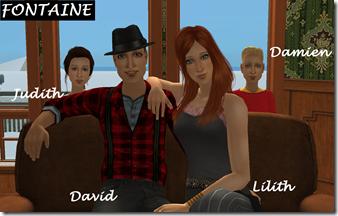 FONTAINE David, Lilith, Damien, Judith