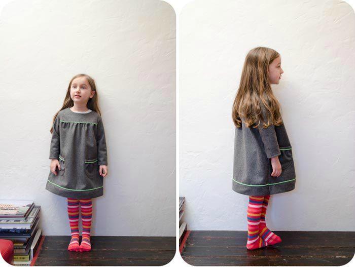 Robe d'hiver pour fille