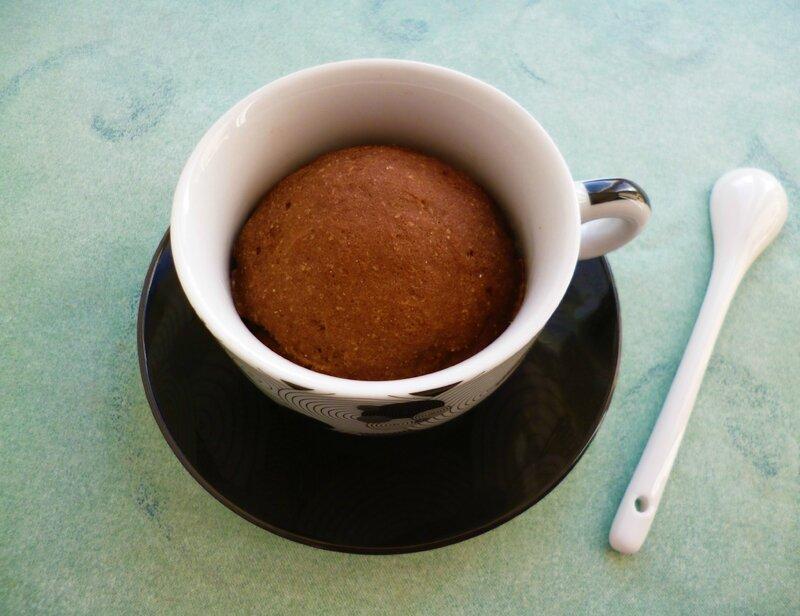 Mug Cake Cookie Sans Oeuf Sans Lait