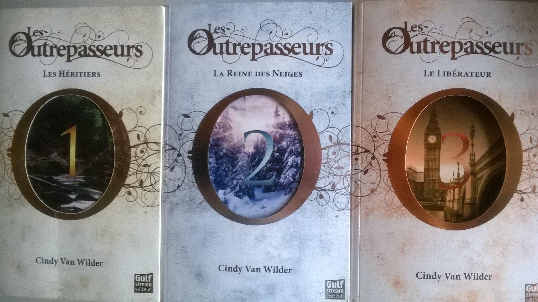 La saga Les Outrepasseurs de Cindy Van Wilder publiée chez Gulf Stream.