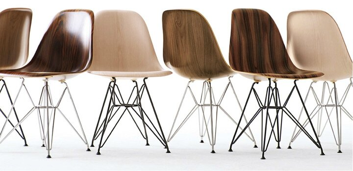 Chaises Eams. Best Eames La Chaise With Chaises Eams. Eames With ...