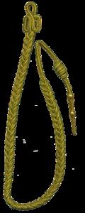 170e RI Fourragère aux couleurs de la médaille militaire