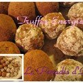 Truffes nergie - Sans gluten - Sans casine