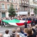 Parade de l'équipage de l'Amérigo Vespucci