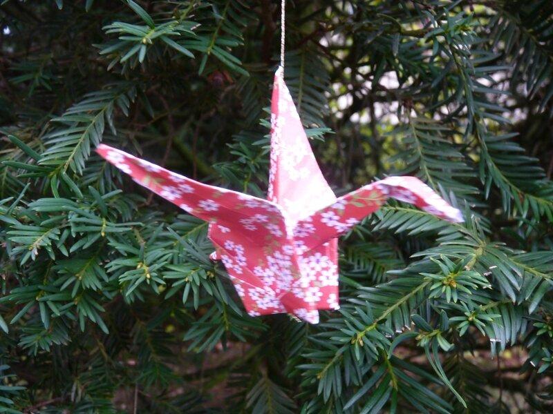 Grues en origami (3)