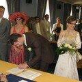 mariage de dorothé ma cousine le 3 juin 06