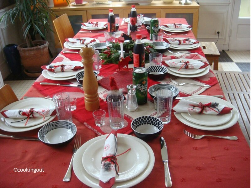 Comment faire un repas de noel su dois sans se fatiguer le for Nappe et serviettes de table