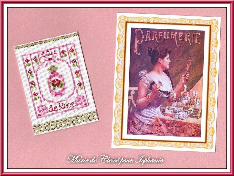Échange ATC Perso Mai (Parfums) Marie de Clessé pour Isaphanie 2