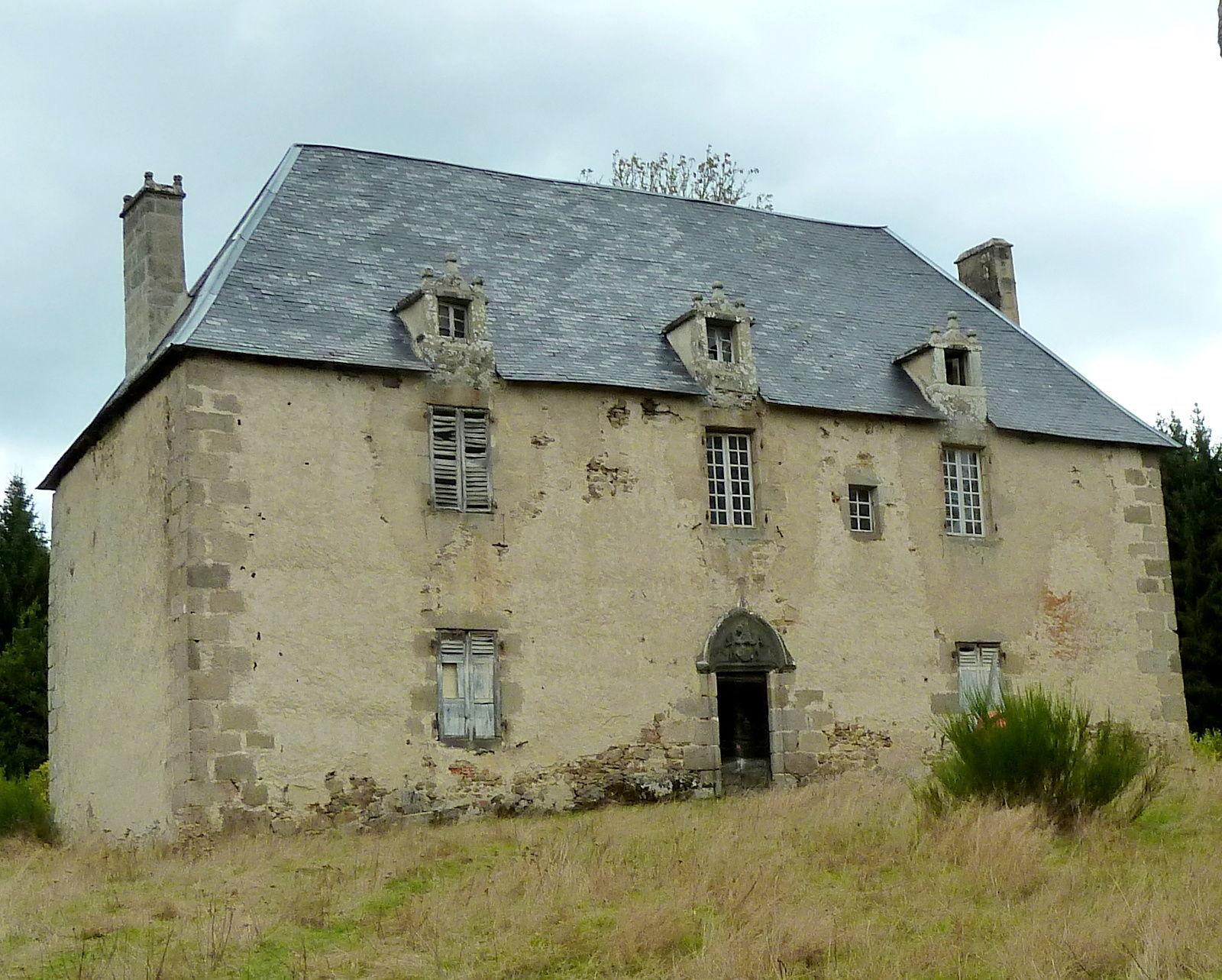 château du Mas à Condat-en-Combraille