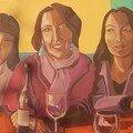Trois grâces autour de la table