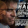 Valls veut mater les députés qui manifestent leur soutien aux palestiniens