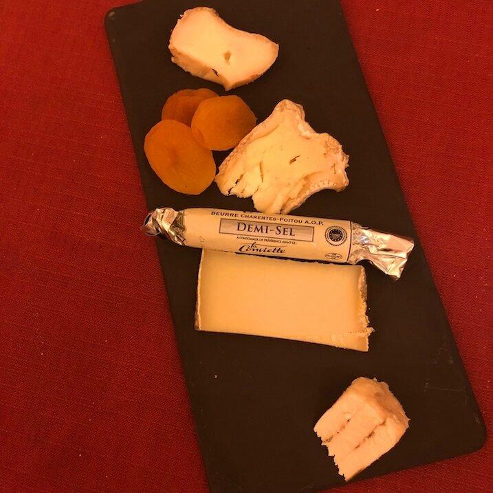 Assiette de fromages, Josiane Deal