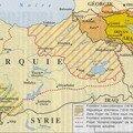 Arménie - cartographie géo-historique