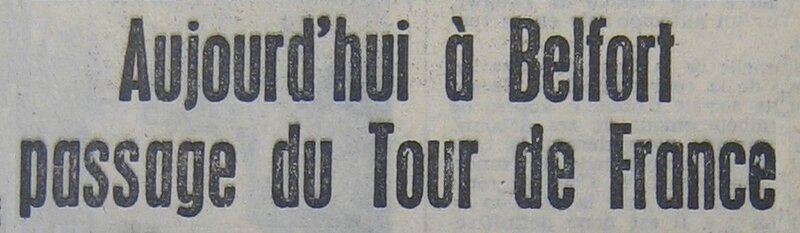 1957 07 04 Tour de France La République 1 R