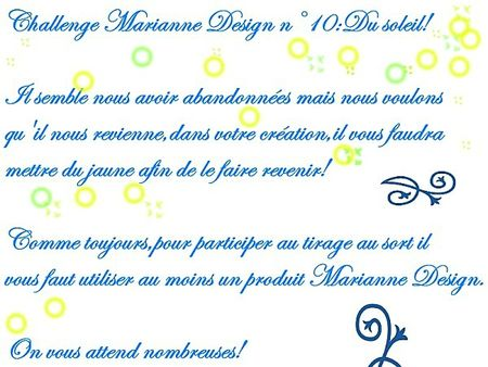challenge marianne design n°10 le soleil 1