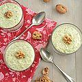 Cheesecake de brocolis & épeautre en verrines...sans oeufs & sans cuisson