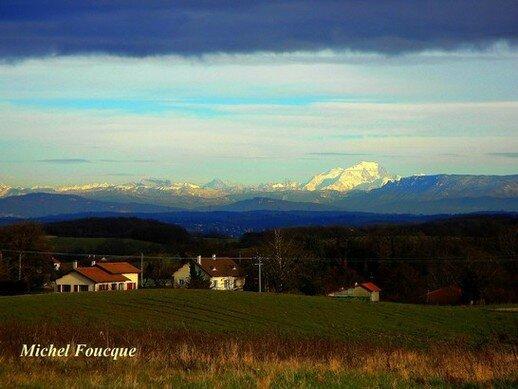 9320)vue sur les Alpes