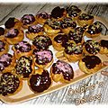 Choux creme patissiere chocolat decors gourmands scrapcooking