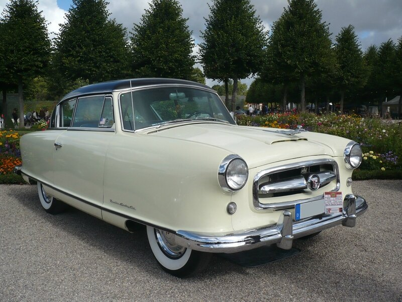 NASH Rambler Country Club 2door coupé 1954 Schwetzingen (1)
