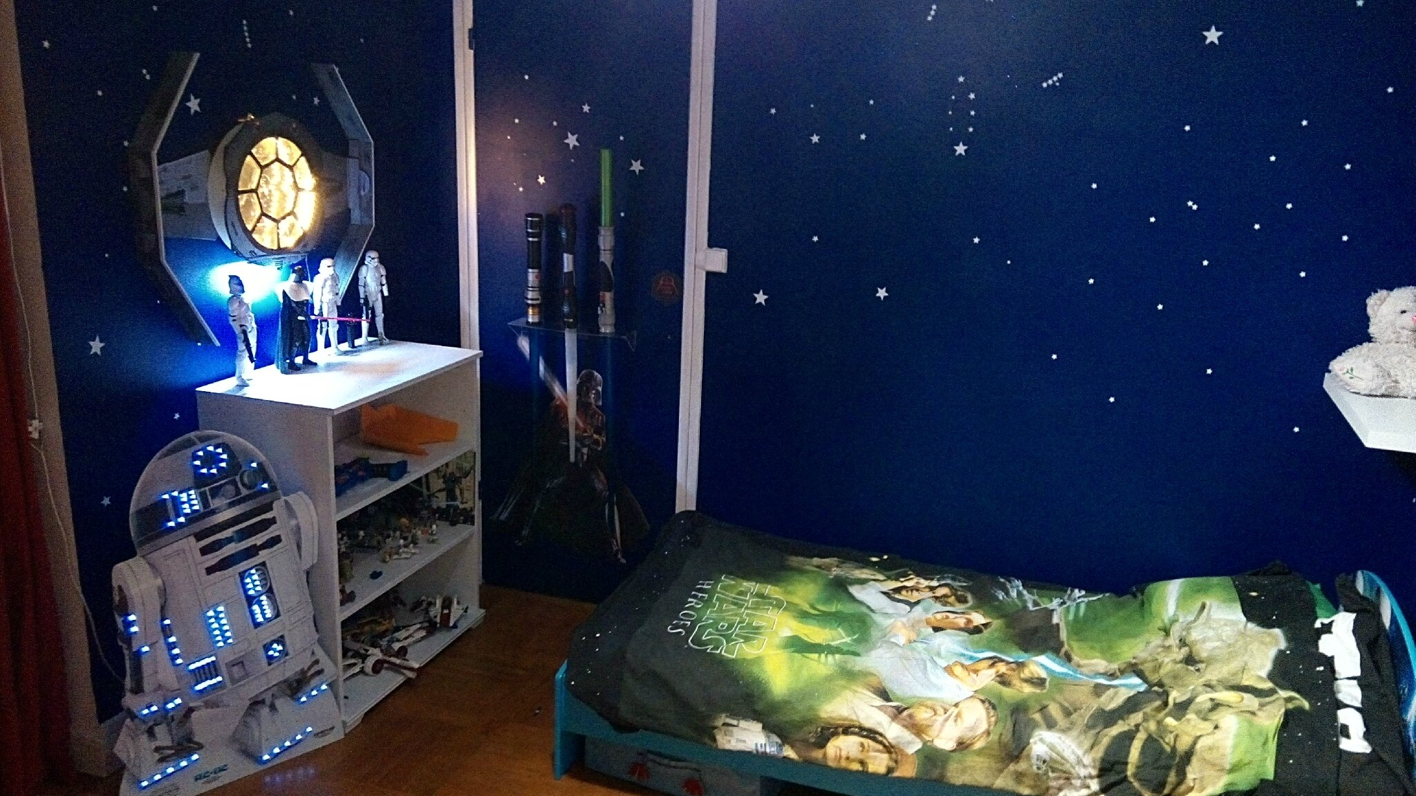 d coration chambre star wars